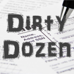 Dirty Dozen Tax Scams